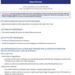 Ministère des sports – Guide d'accompagnement de reprise des activités sportives